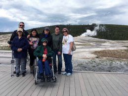 At Old Faithful