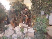 Creepy replicas of Che and Fidel