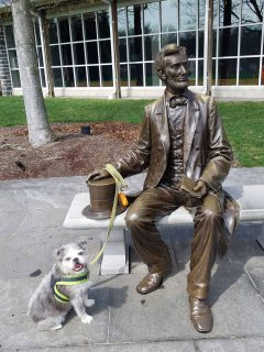 Dex hanging with Lincoln